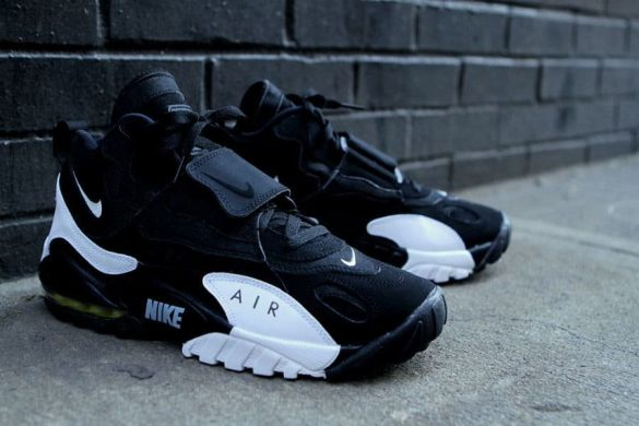 Мужские кроссовки Nike Air Max Speed Turf 'Black White Yellow', EUR 42