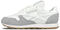 "Кроссовки Оригинал Reebok Classic Leather Perfect Split Pack ""Cloud Grey"" (AR2615)"