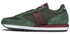 "Кроссовки Saucony Jazz Original ""Green/Bordeaux"""