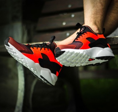 "Кроссовки Nike Air Huarache Run Ultra ""Orange/Black"", EUR 41"