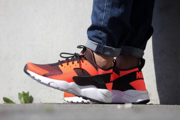 "Кросiвки Nike Air Huarache Run Ultra ""Orange/Black"", EUR 41"