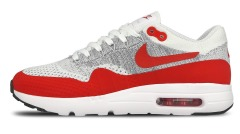 "Кроссовки Nike Air max 1 ultra flyknit ""University red"""