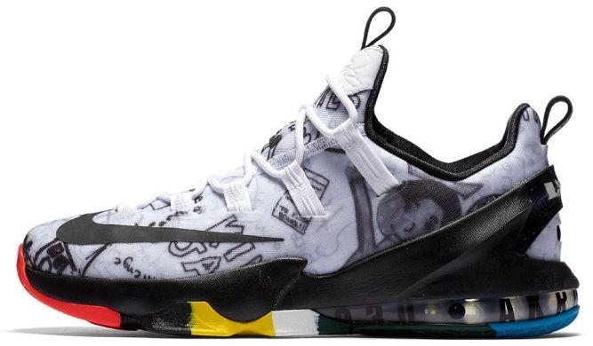 Баскетбольні кросівки Nike Lebron 13 Low LMTD