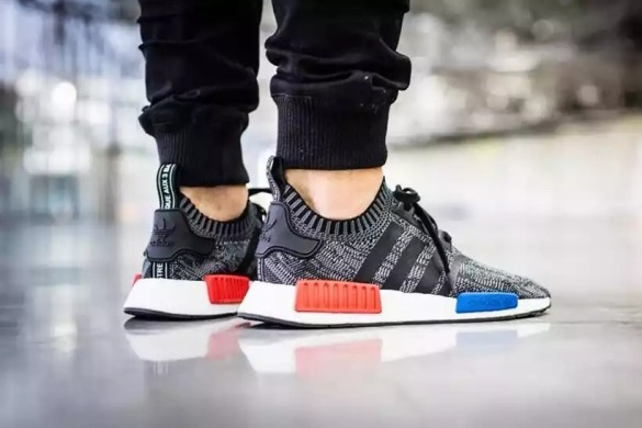 "Кроссовки Adidas Originals NMD Runner ""Mottled black and white"", EUR 40"