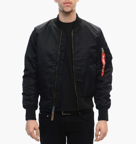 Куртка бомбер Alpha Industries MA-1 VF 59 (191118-03-BLACK)