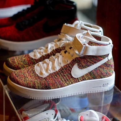 "Кросiвки Nike Air Force 1 Ultra Flyknit Mid ""Multicolor"", EUR 40"