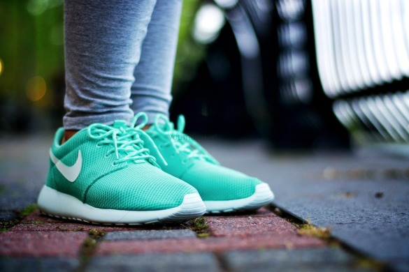 "Кросівки Nike Roshe Run ""Light Blue"", EUR 38"
