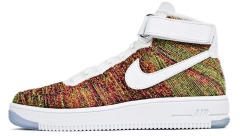 "Кросiвки Nike Air Force 1 Ultra Flyknit Mid ""Multicolor"""