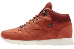 "Кросiвки Оригiнал Reebok Classic Leather Mid Goretex ""Terra Red"""
