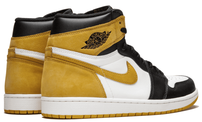 "Мужские кроссовки Air Jordan 1 Retro High Og ""Yellow Ochre"", EUR 42"