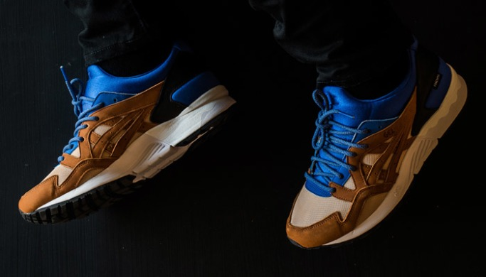 "Кроссовки Asics Gel-Lyte V x Concepts mix & match ""roayl/blue"", EUR 41"