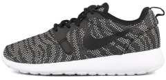 "Кросівки Nike Roshe Run KNIT JACQUARD ""White/Black"""