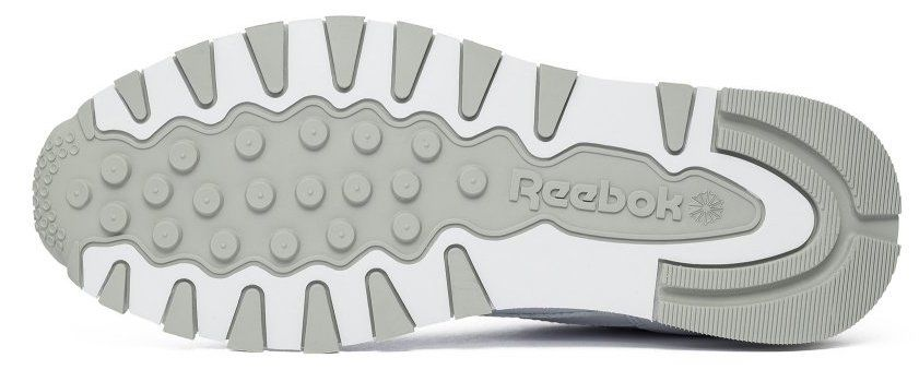 "Кроссовки Оригинал Reebok Classic Leather ""White/Grey"" (2214), EUR 40"