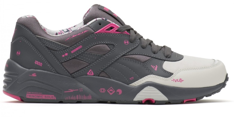"Кроссовки Puma R698 Graphers Rock ""Grey/Ping"", EUR 37"