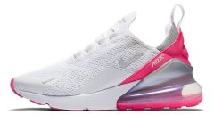Женские кроссовки Nike W Air Max 270 'White/Pink/Gray'