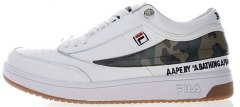Кроссовки AAPE by A Bathing Ape x FILA T-1 Mid