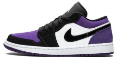 "Кроссовки Air Jordan 1 Low ""Court Purple"""
