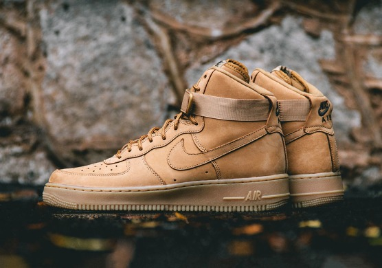 "Кроссовки Nike Air Force 1 High '07 LV8 ""Flax"", EUR 44"