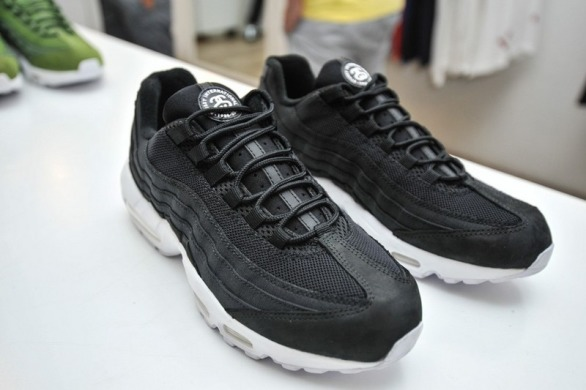"Кроссовки Nike Air Max 95 Stussy ""Black/White"", EUR 42"