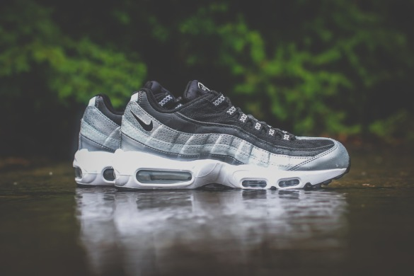 "Кроссовки Nike Wmns Air Max 95 QS ""Metallic Platinum/Black/White"", EUR 36"