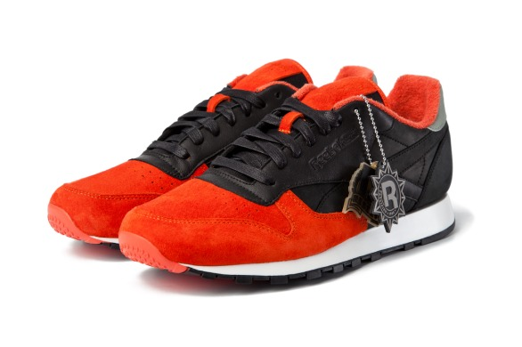 "Кроссовки Solebox x Reebok Classic Leather ""Red/Black"", EUR 41"