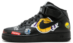 "Мужские кроссовки Nike Air Force 1 Mid '07 Supreme NBA ""Black"""