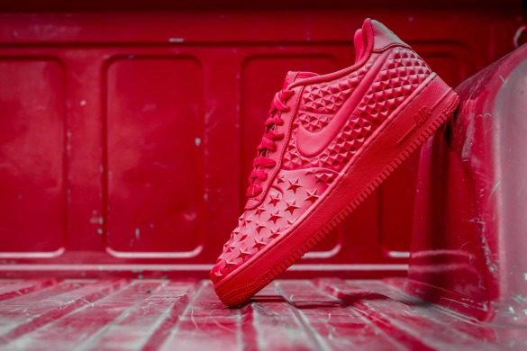 "Кроссовки Nike Air Force One Low 07 LV8 VT ""Red"", EUR 36"