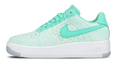 "Кроссовки Nike Wmns Air Force 1 Flyknit Low ""Hyper Turquoise"""