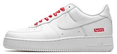 "Кроссовки Nike Air Force 1 Low ""Supreme - Mini Box Logo White"""