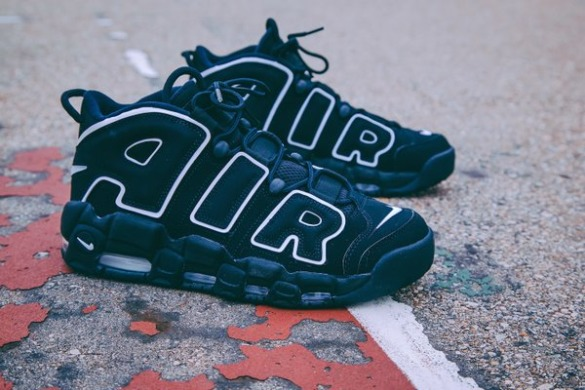 "Кросiвки Nike Air More Uptempo ""Black"", EUR 42,5"