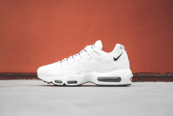 "Кроссовки Nike Wmns Air Max 95 QS ""White/Black"", EUR 41"