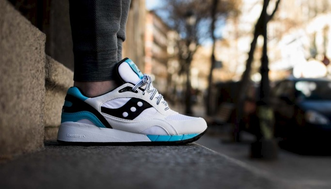 "Кросiвки Оригiнал Saucony Shadow 6000 ""White/Black"" (S70007-75), EUR 42,5"