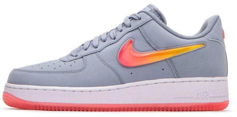 4053853a Мужские кроссовки Nike Air Force 1 '07 PRM 2 'Grey/Multicolor' A2713 ...