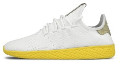 "Кроссовки Adidas x Pharrell Williams Tennis Hu Primeknit ""White/Yellow"""