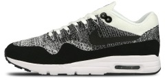 "Кроссовки Nike Air Max 1 Ultra Flyknit ""White/Black"""