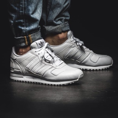 "Кросiвки Оригинал Adidas Zx-700 Leather ""White"" (G62110), EUR 36,5"