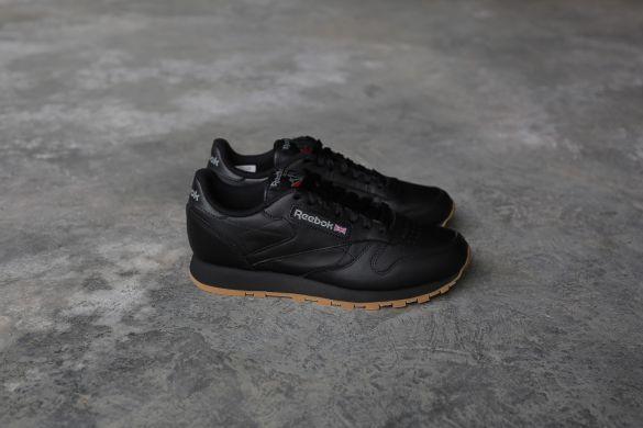 Оригинальные кроссовки Reebok Classic Black Leather (49800) A1596 ... 7540c3fe75e