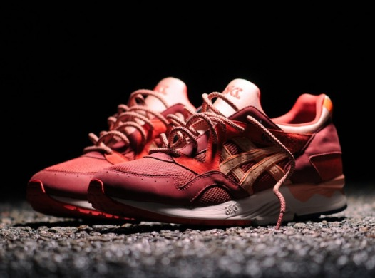 "Кроссовки Asics Ronnie x Lyte Volcano ""red"", EUR 40"