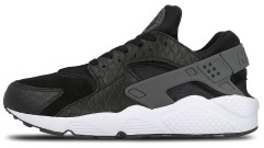 "Кроссовки Оригинал Nike Air Huarache Run PRM ""Black/Dark"""
