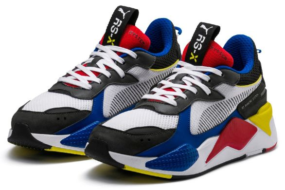 "Мужские кроссовки Puma RS-X Toys ""White/Royal/Blue"", EUR 42"