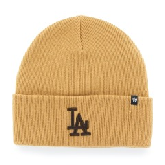 "Шапка Оригінал 47 Brand Los Angeles Dodgers Haymaker Cuff Knit ""Wheat"""