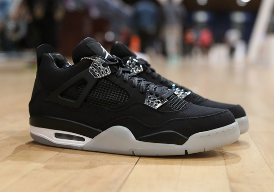 "Кроссовки Air Jordan 4 Retro Eminem x Carhartt ""Black/Cement"", EUR 43"
