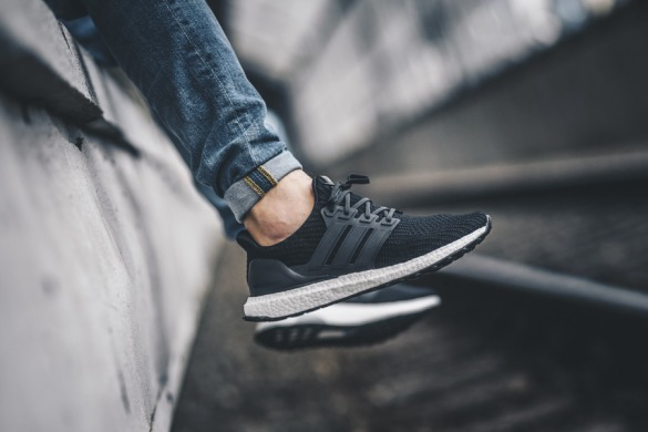"Кроссовки Adidas Ultra BOOST ""Core Black"", EUR 41"