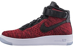 "Кросiвки Nike Air Force Flyknit Mid ""Red"""