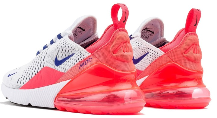 "Кроссовки Nike Air Max 270 White Ultramarine ""Solar Red"", EUR 36,5"
