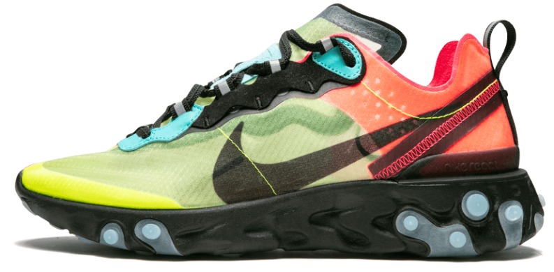 Мужские кроссовки Nike React Element 87 'Volt Racer Pink', EUR 42,5
