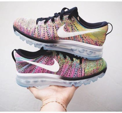 "Кросiвки Nike Air Max Flyknit 2015 ""Multicolor"", EUR 41"