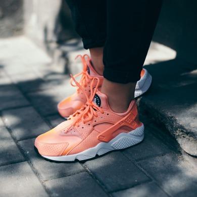 Atomic Pink Nike Wmns Air Huarache Run Кроссовки Оригинал Nike Wmns Air Huarache Run