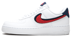 "Мужские кроссовки Nike Air Force 1 07 LV8 ""Chenille Swoosh"""