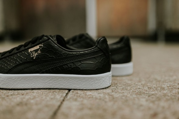 "Кеды Оригинал Puma Clyde Dressed ""Black"" (361704-01), EUR 42"